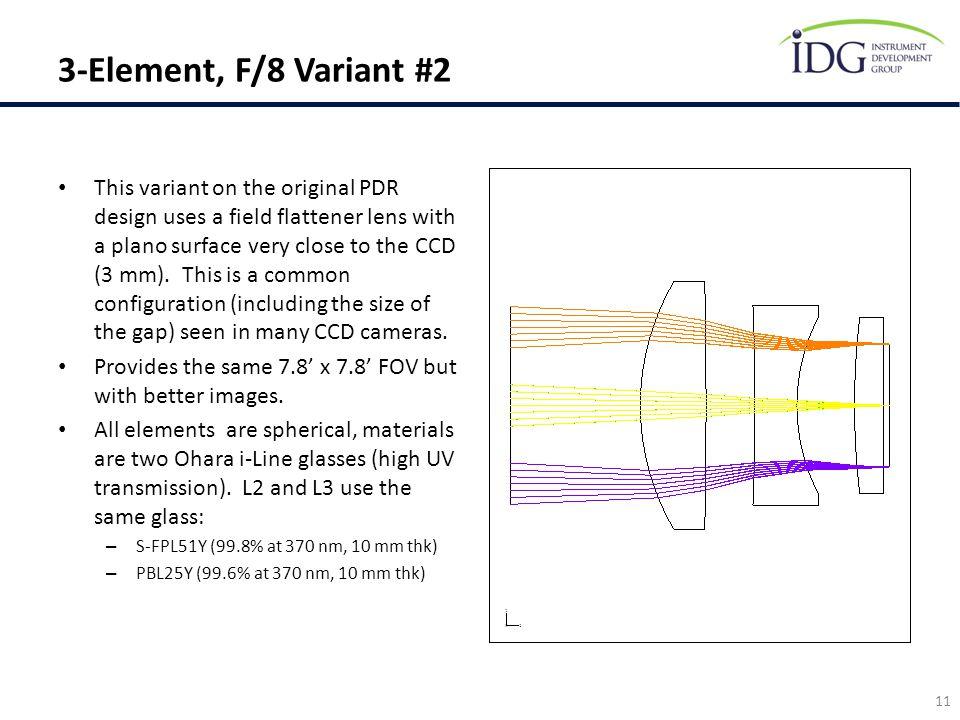 3-Element, F/8 Variant #2