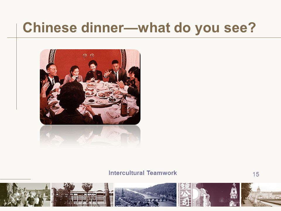 Chinese dinner—what do you see