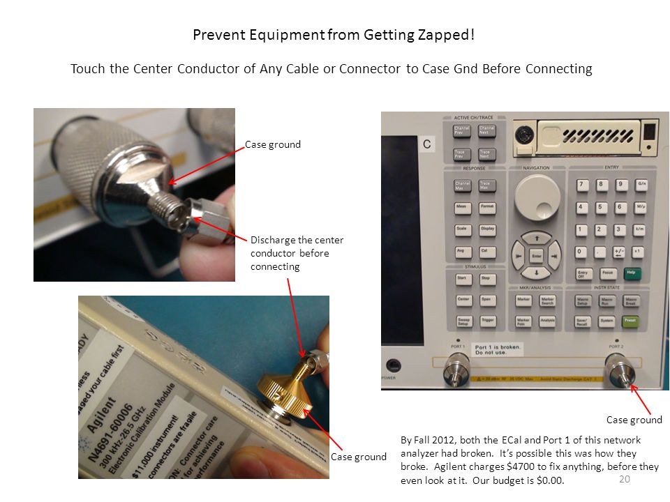Prevent Equipment from Getting Zapped!