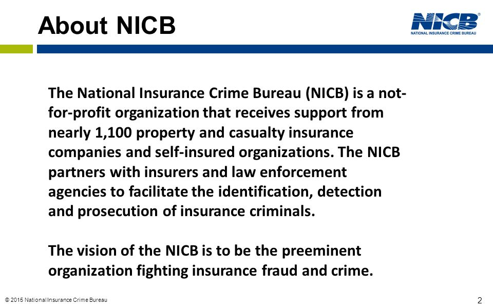 About NICB