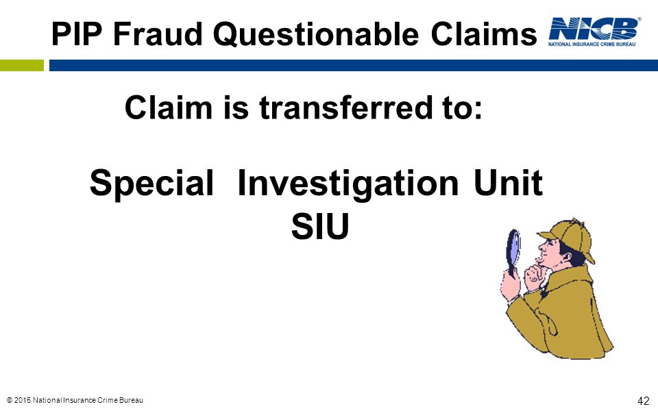 PIP Fraud Questionable Claims