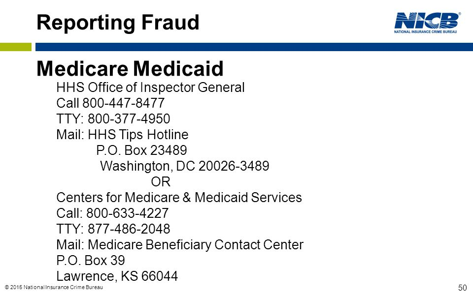 Reporting Fraud Medicare Medicaid HHS Office of Inspector General