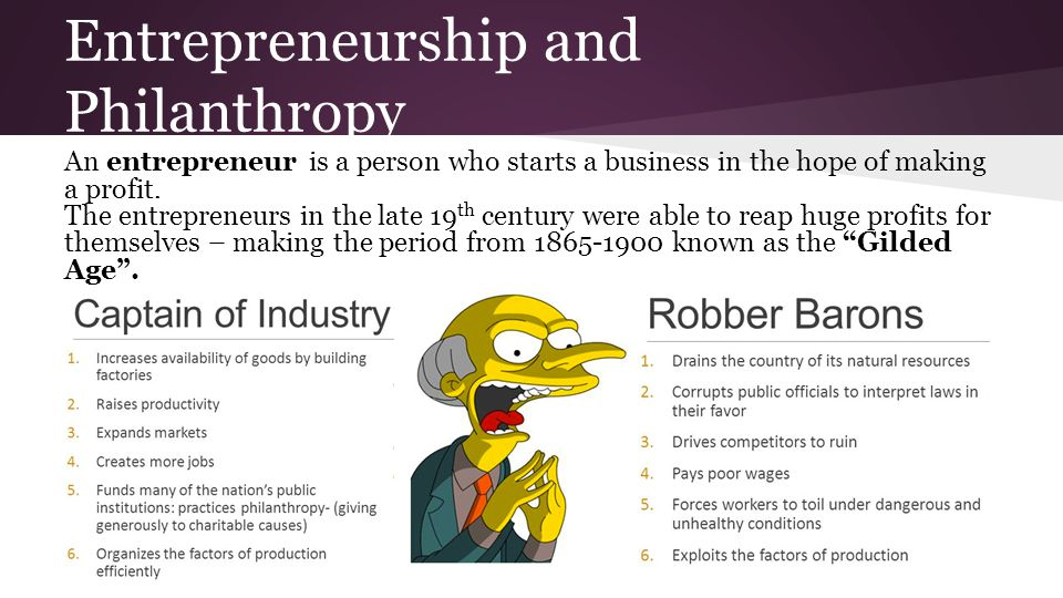 Captains of Industry (Robber Barons)