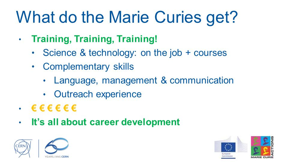 What do the Marie Curies get