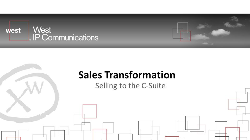 Sales Transformation Selling to the C-Suite