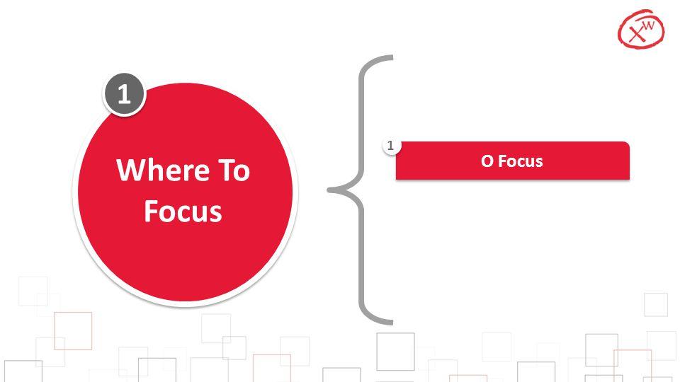 1 Where To Focus O Focus 1
