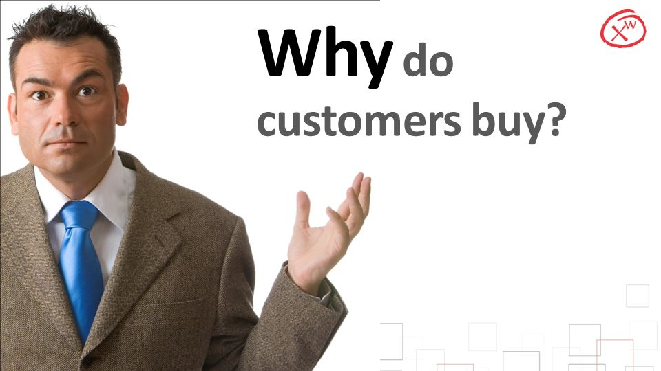 Why do customers buy Timing: 5
