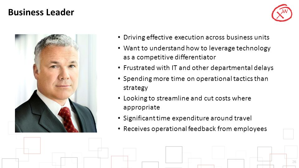 Business Leader Driving effective execution across business units