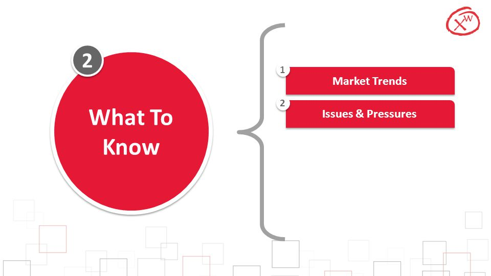 2 What To Know Market Trends 1 Issues & Pressures 2