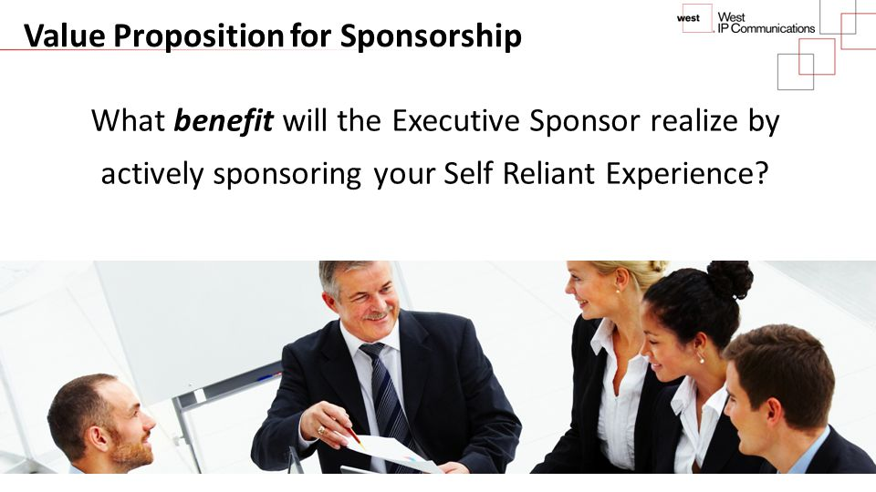 Value Proposition for Sponsorship
