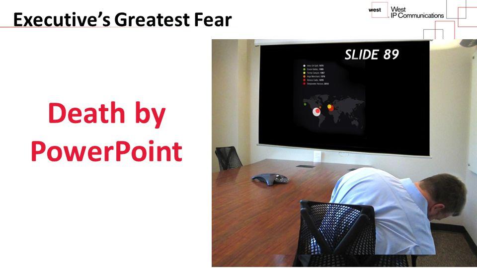 Executive's Greatest Fear