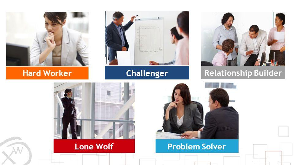 Hard Worker Challenger Relationship Builder Lone Wolf Problem Solver