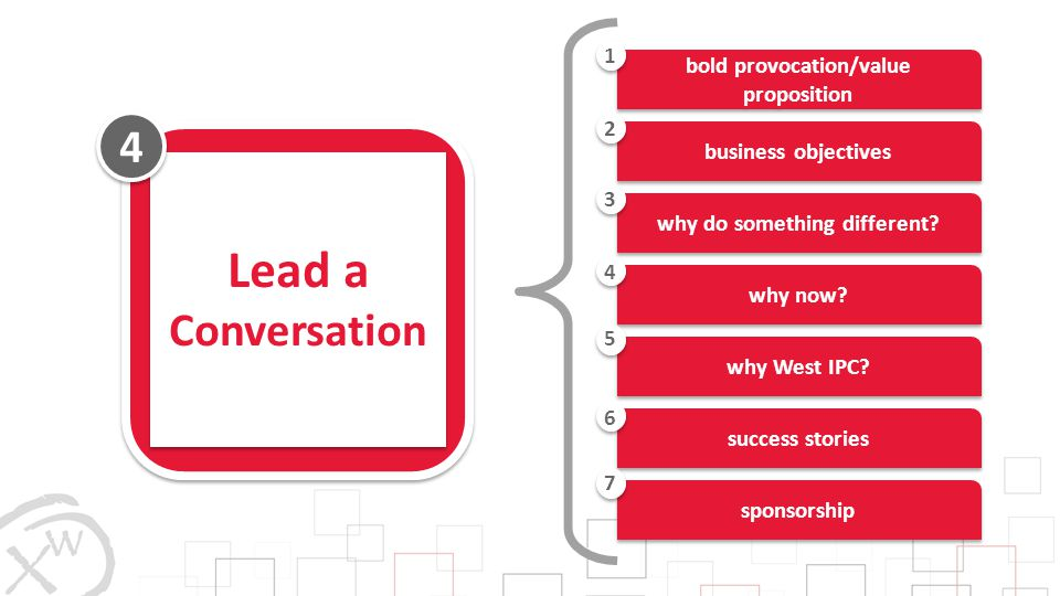 bold provocation/value proposition why do something different