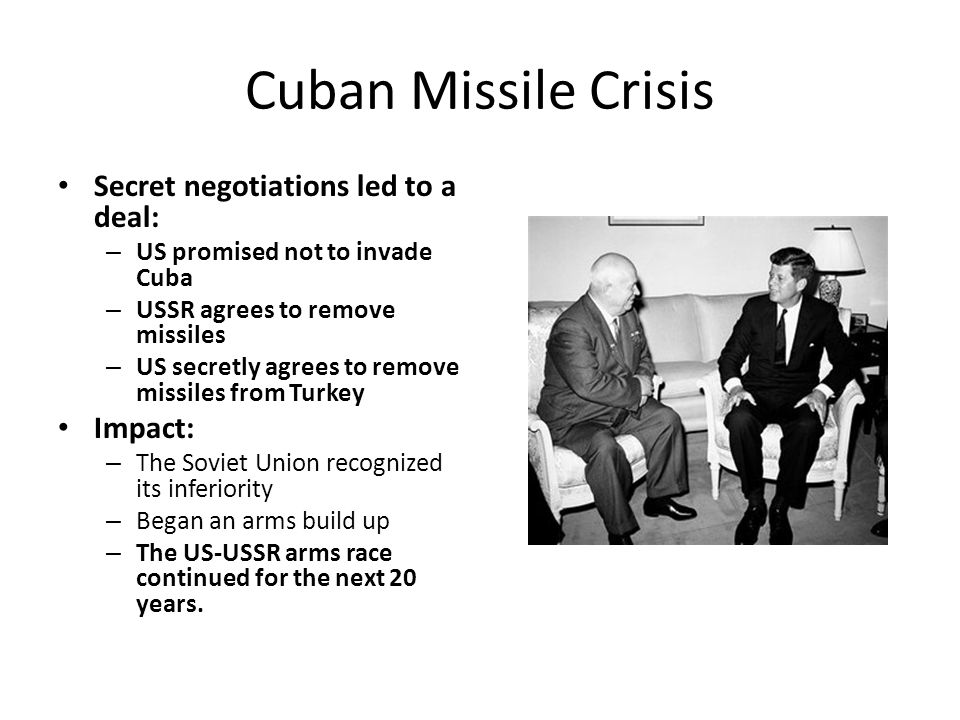 a look at the communist rule in cuba and the genesis of cuban missile crisis Several us bombers, disguised to look like cuban air force planes and piloted by cuban exiles, began the invasion by first launching a series of air strikes against air bases in cuba, but they .