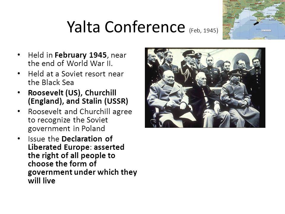 Yalta Conference (Feb, 1945)
