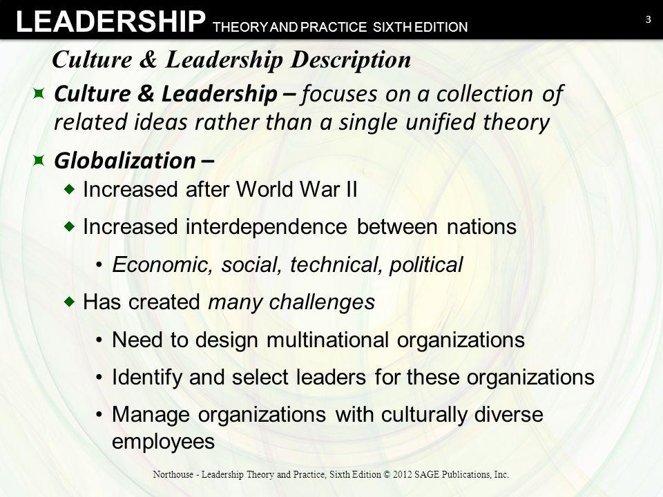 Culture & Leadership Description