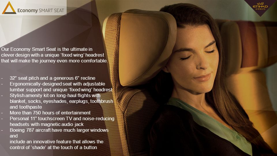 Our Economy Smart Seat is the ultimate in clever design with a unique 'fixed wing' headrest that will make the journey even more comfortable.
