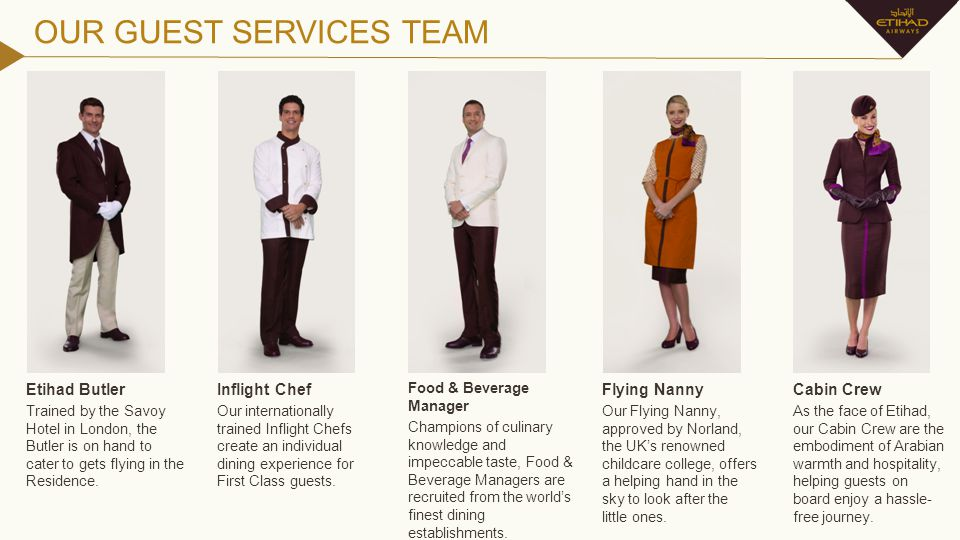 OUR GUEST SERVICES TEAM