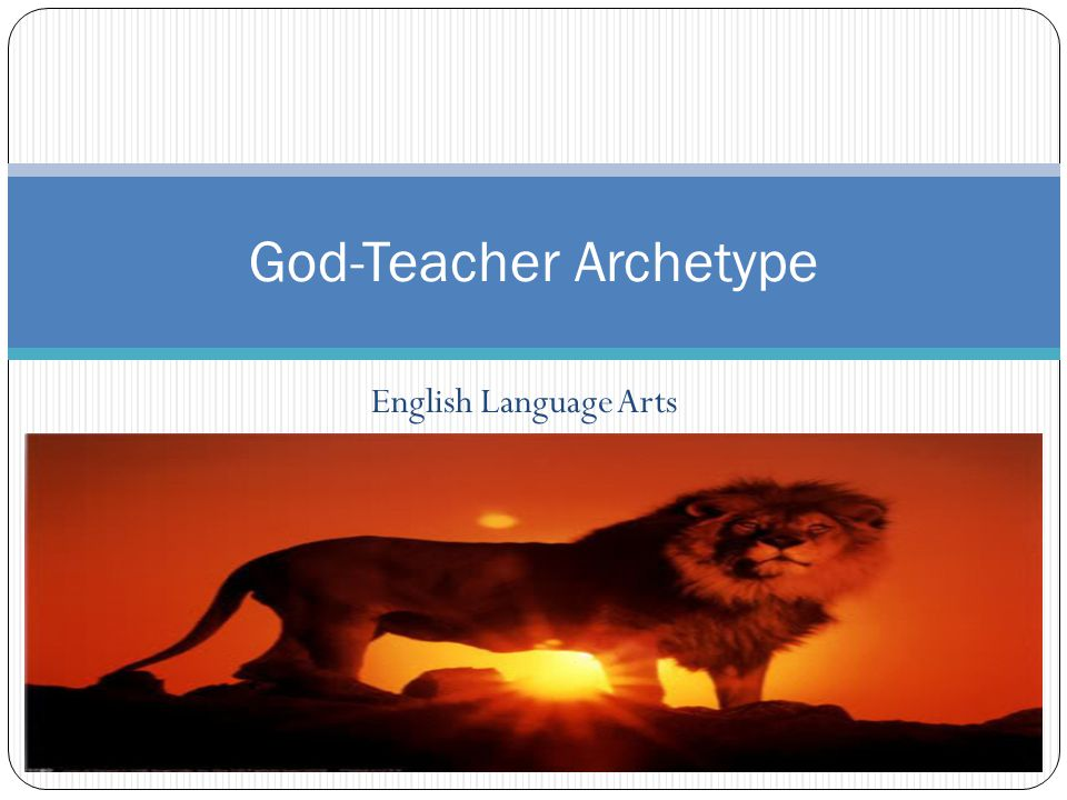 God-Teacher Archetype
