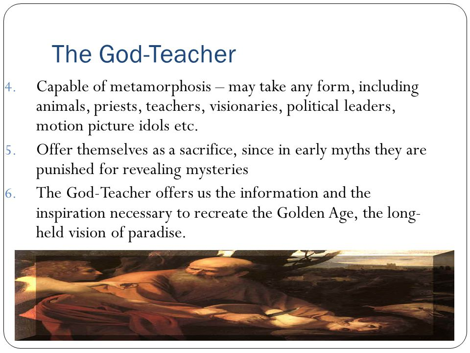The God-Teacher