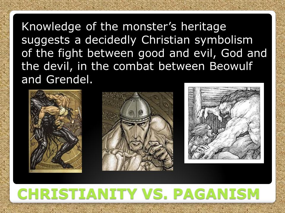 christian symbolism in beowulf Christian and pagan symbols in beowulf - get a 100% original, plagiarism-free essay you could only dream about in our paper writing assistance cooperate with our scholars to get the quality essay following the requirements top.