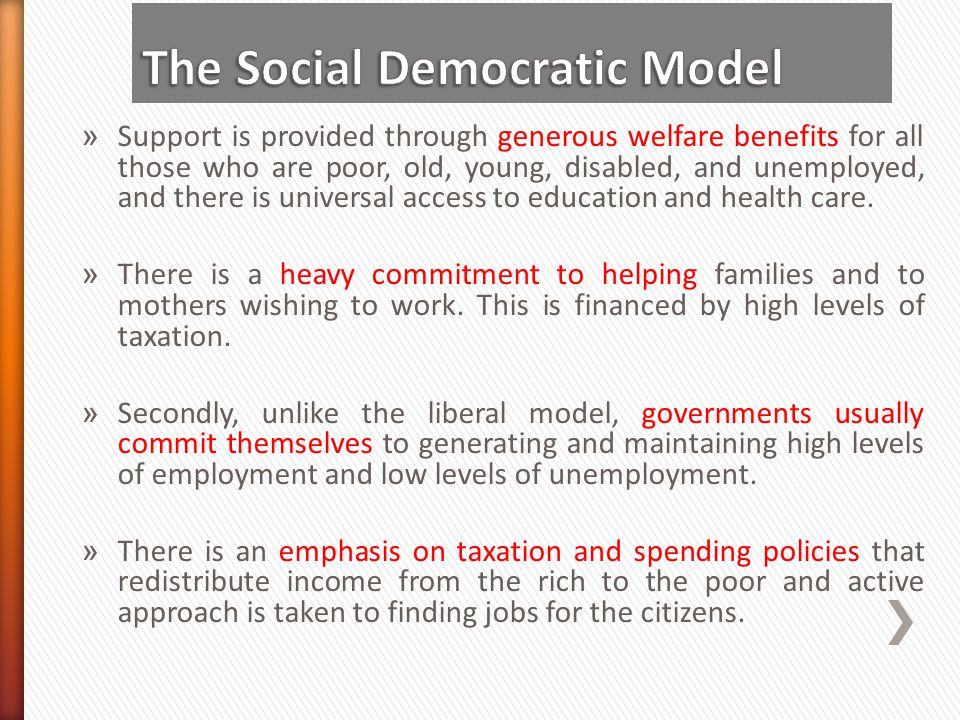 The Social Democratic Model