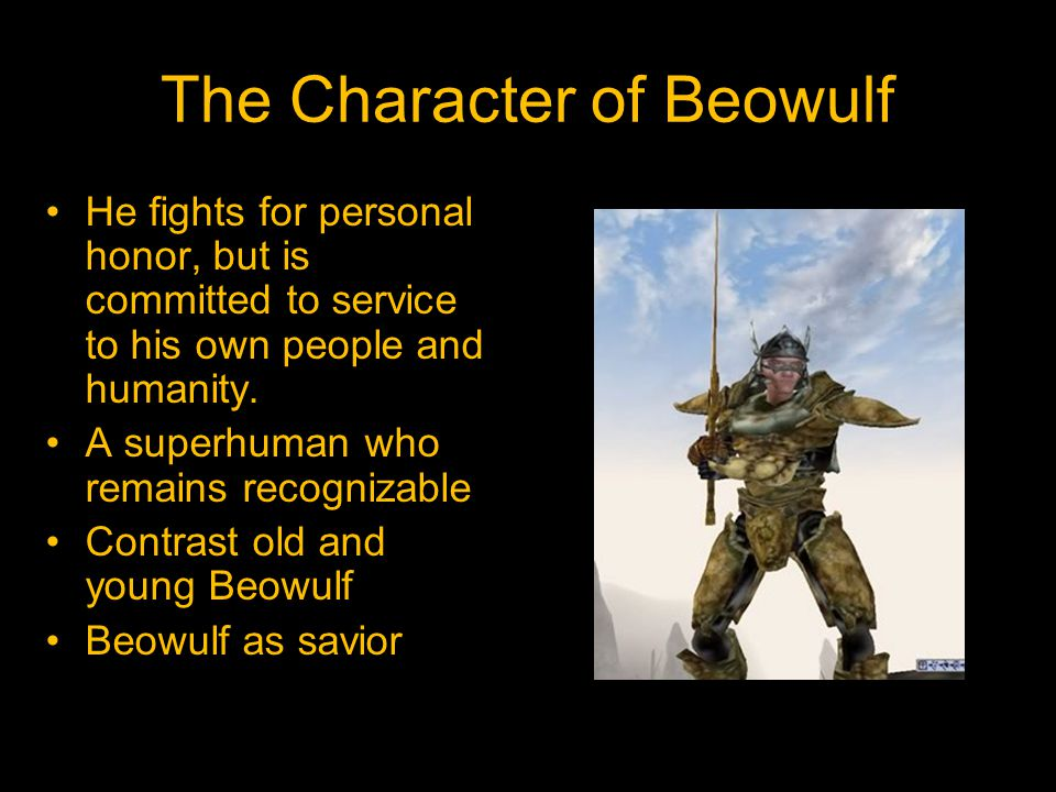 The Character of Beowulf