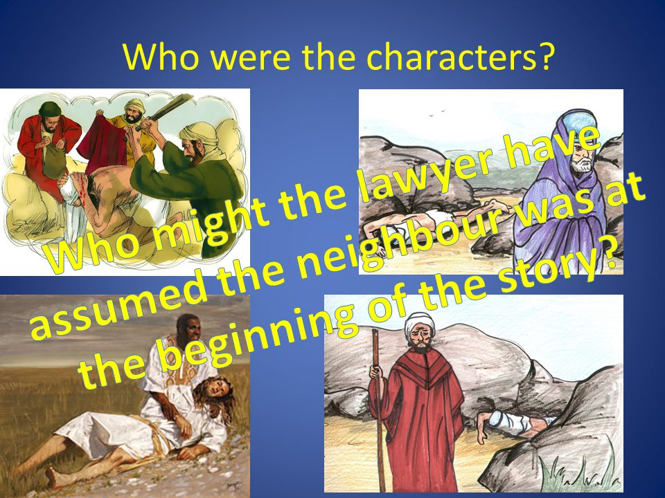 Who were the characters