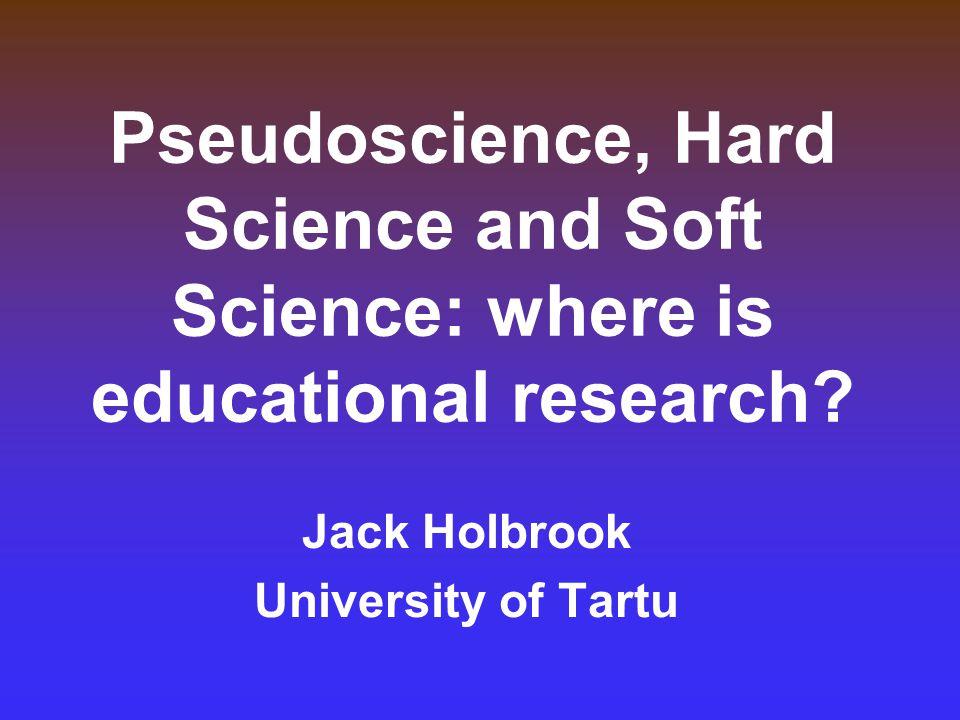 Jack Holbrook University of Tartu