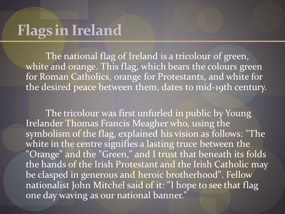 Flags in Ireland