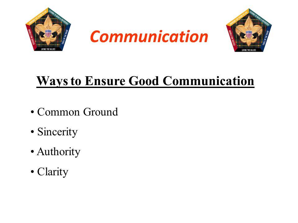 Ways to Ensure Good Communication