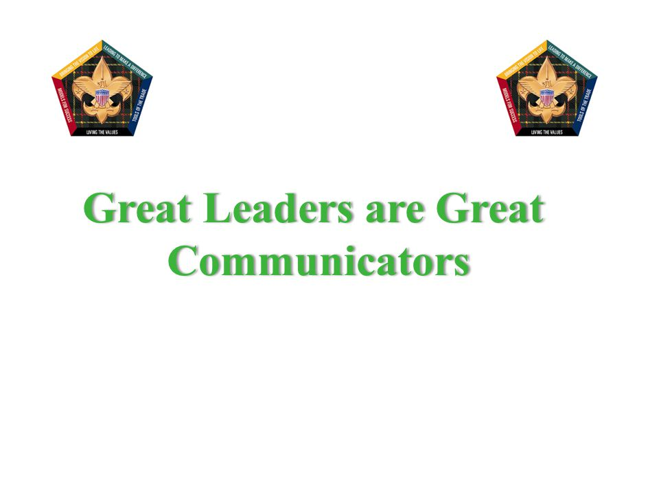 Great Leaders are Great