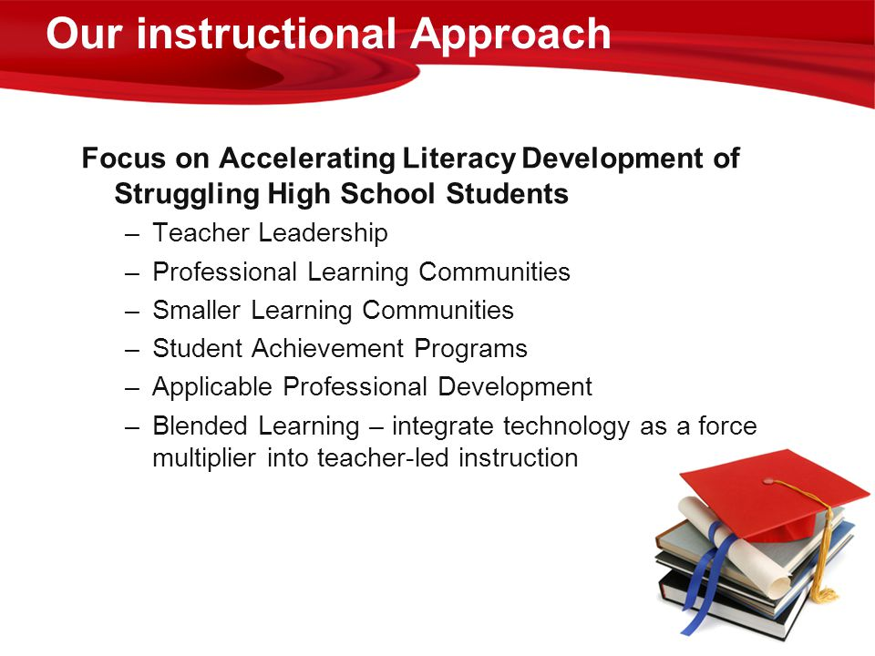 Our instructional Approach