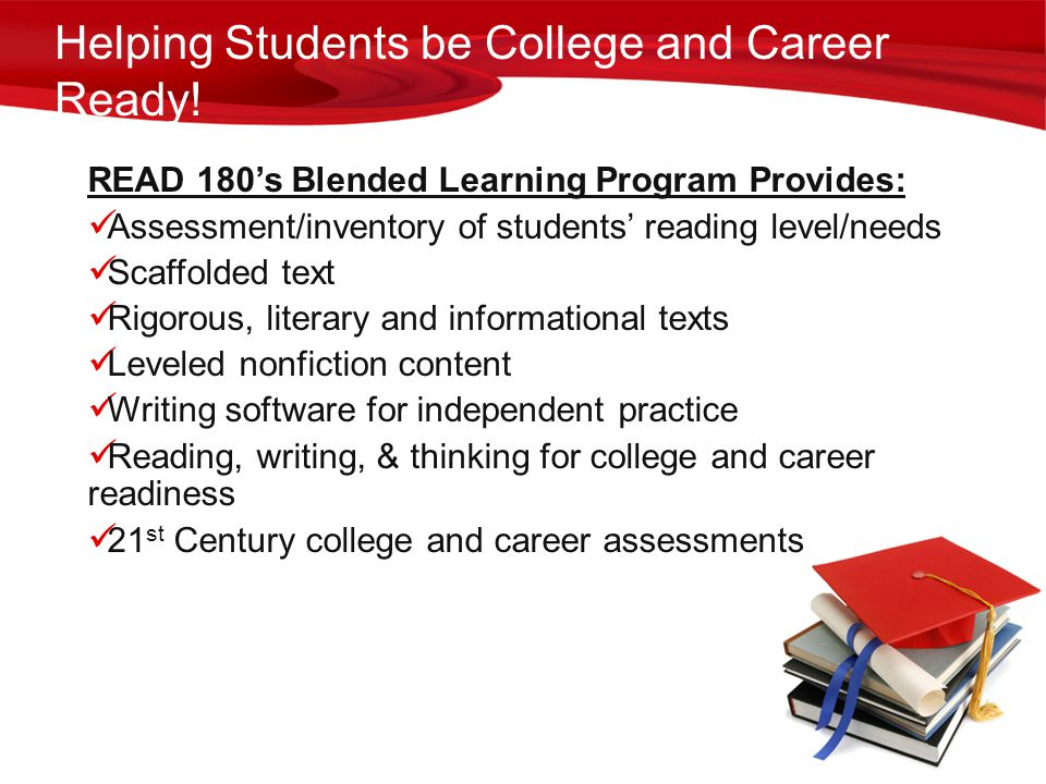 Helping Students be College and Career Ready!