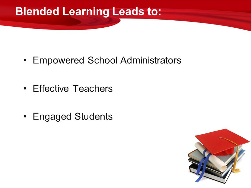 Blended Learning Leads to: