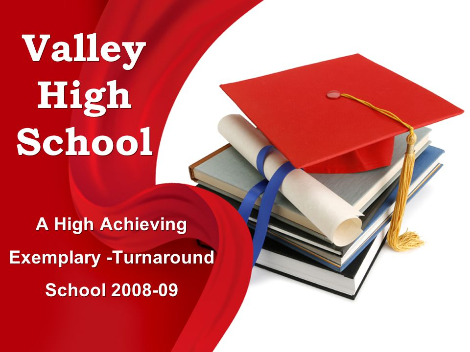 A High Achieving Exemplary -Turnaround School 2008-09