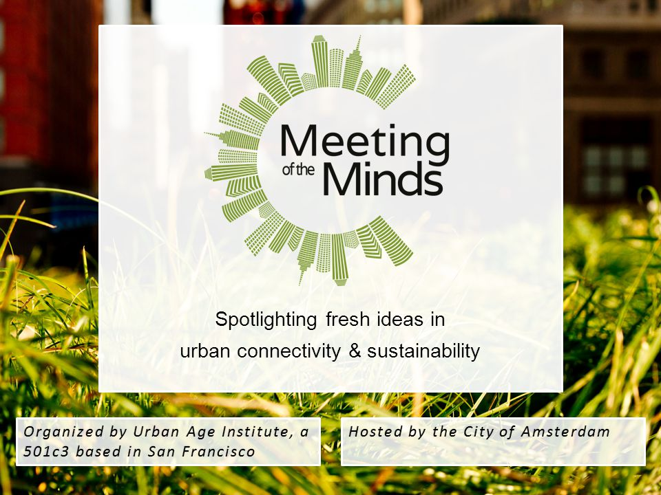 Spotlighting fresh ideas in urban connectivity & sustainability
