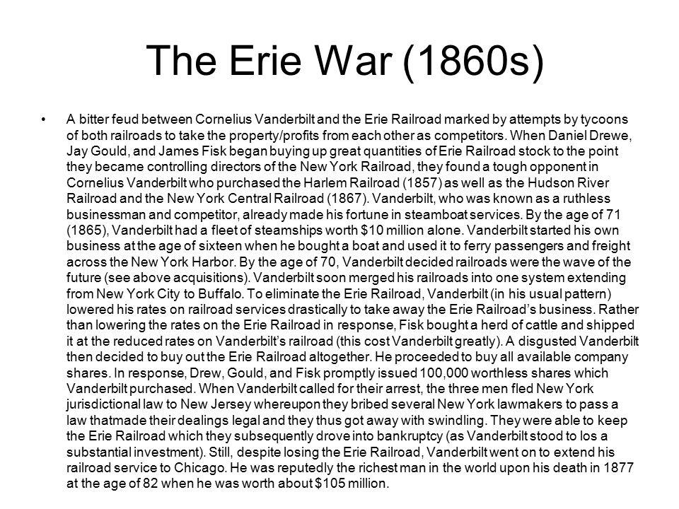 The Erie War (1860s)