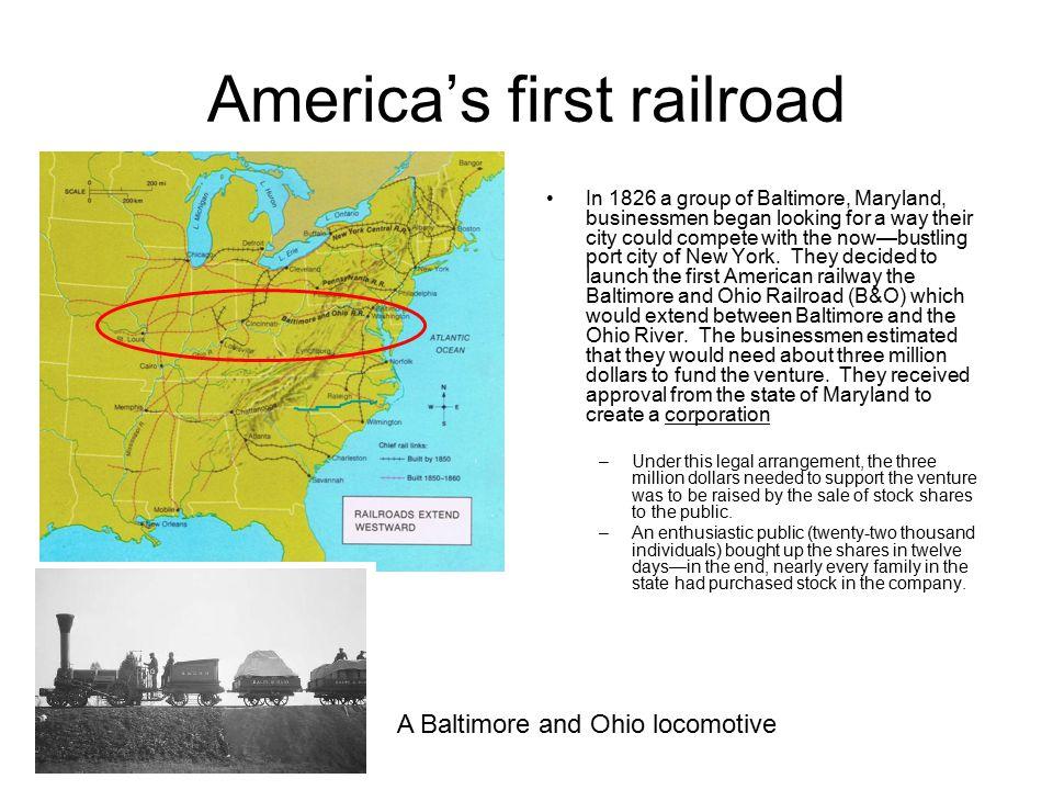 America's first railroad