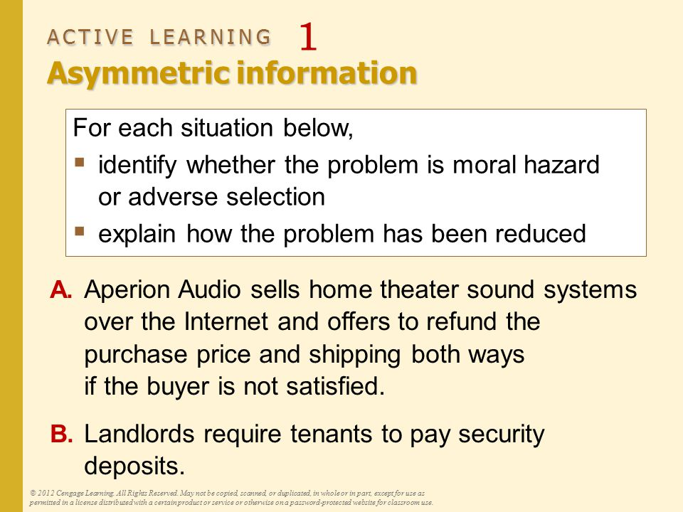 ACTIVE LEARNING 1 Answers, part A