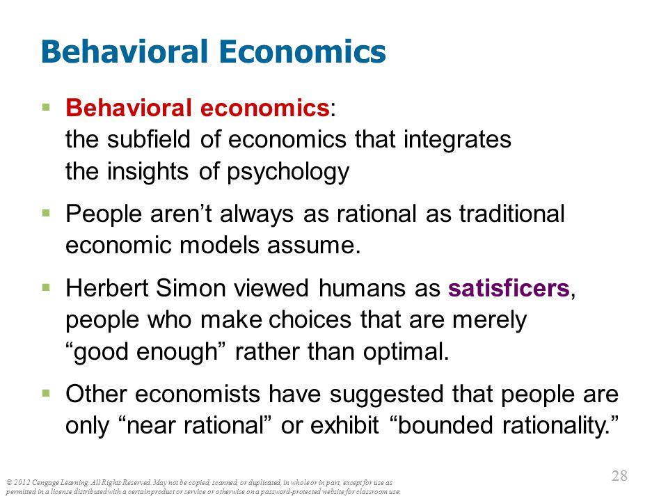 People Aren't Always Rational