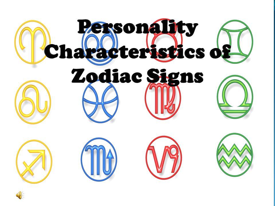 Personality Characteristics of Zodiac Signs