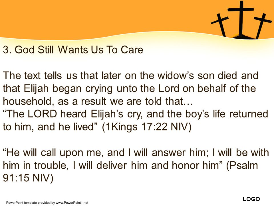 3. God Still Wants Us To Care