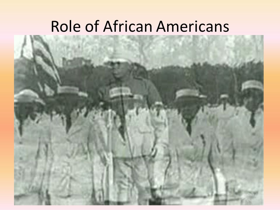 Role of African Americans