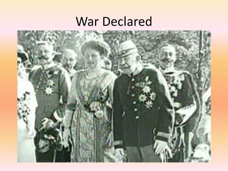 War Declared