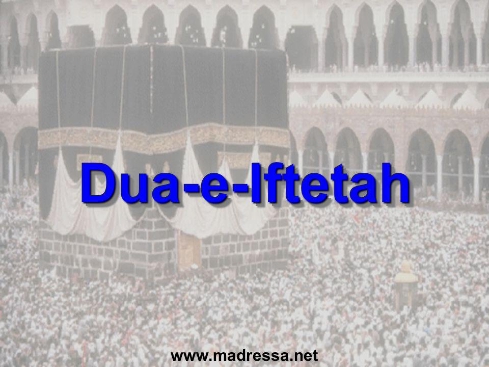 Dua-e-Iftetah www.madressa.net