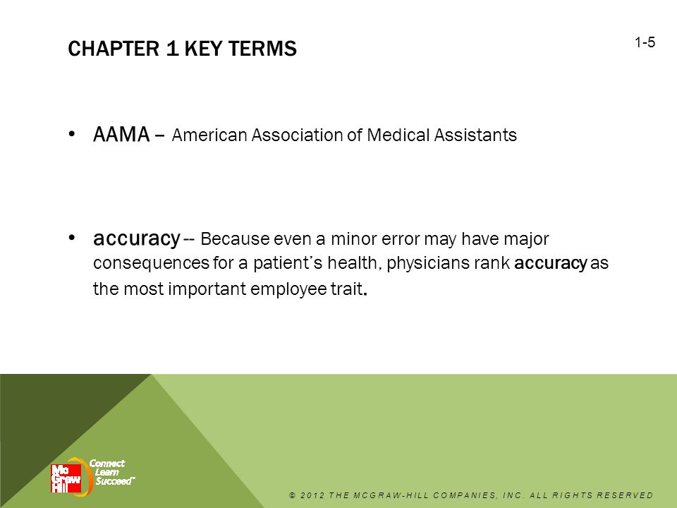AAMA – American Association of Medical Assistants
