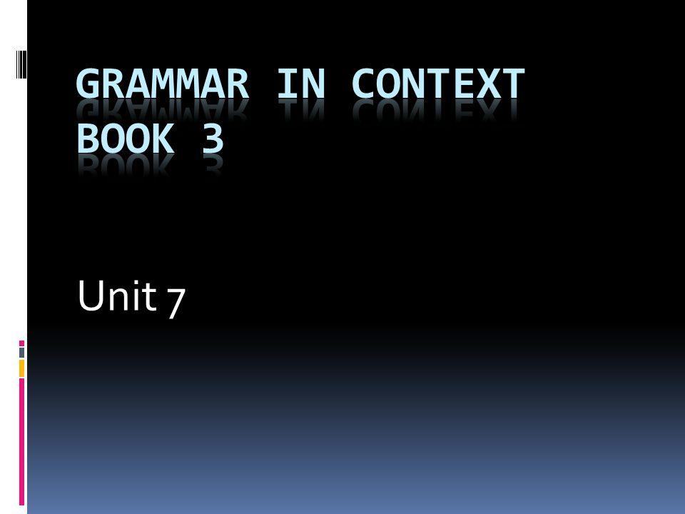 Grammar in Context Book 3