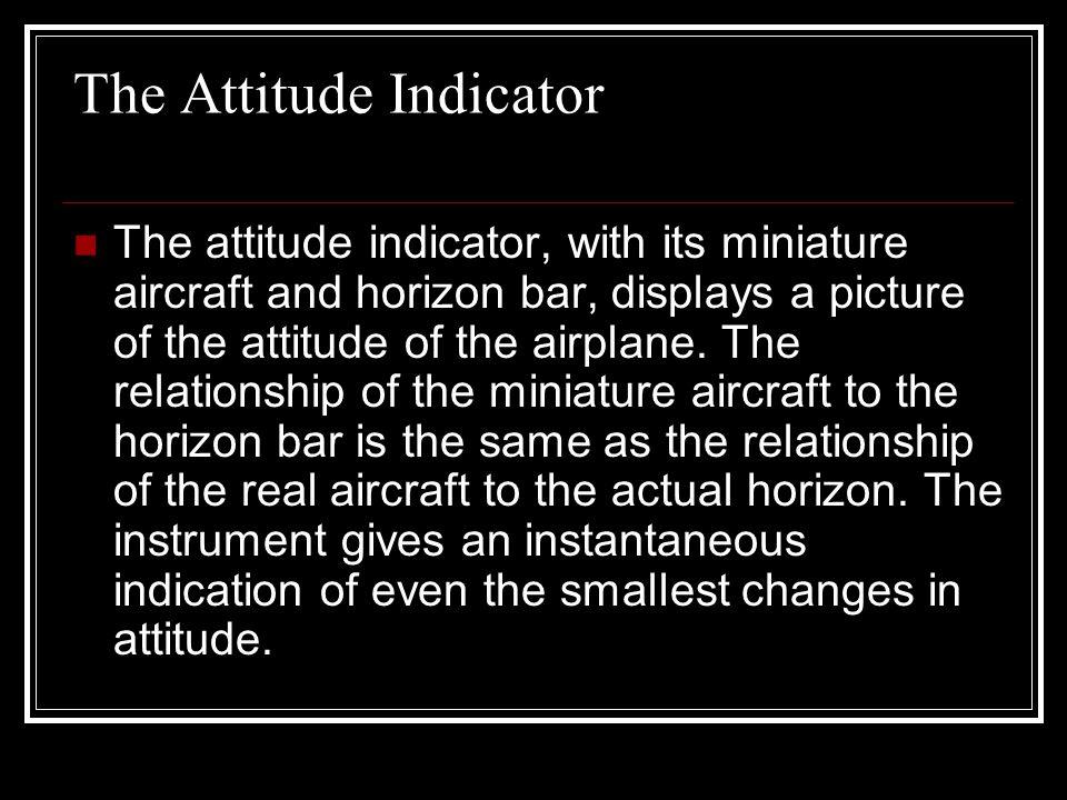 The Attitude Indicator
