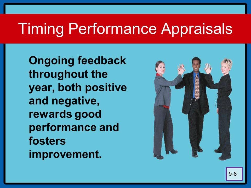 Timing Performance Appraisals